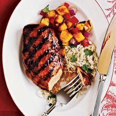 <strong>Marinating:</strong> Hawaiian Chicken - 50 Healthy Chicken Breast Recipes - Cooking Light Mobile