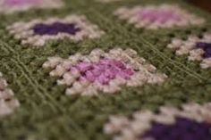 crocheted squares blanket - Google Search