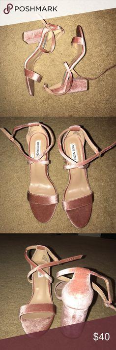 Steve Madden Heels Suade Pink Steve Madden Heels Steve Madden Shoes Heels