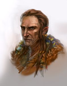 Elven shaman dude guy Daily Doodle 31 05 2013 by JordyLakiere on DeviantArt