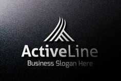 Check out Active Line Logo by BDThemes Ltd on Creative Market