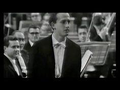 Historic pianist Maurizio Pollini plays Beethoven's last concerto, The Emperor with Claudio Abbado conducting the Sinfonica di Roma Orchestra.