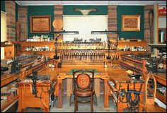 My workshop, I wish.  This is some leather workshop!