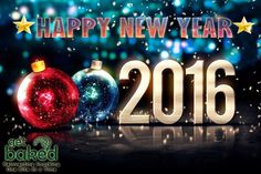 Wishing you a prosperous New Year 2016. May it be filled with Joy and Happiness. #Getbaked #NewYear #2016