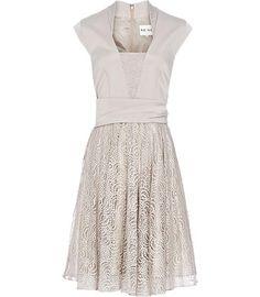 Light Grey Reiss Dress - I'm so sad the Reiss in SF closed.