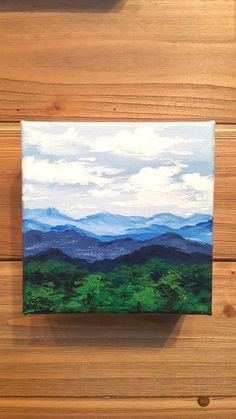 Small, detailed, and adorable canvas paintings created by one of our local artisan vendors, Rebecca Romine. This piece is crafted with acrylic paint, … – art Small Canvas Paintings, Small Canvas Art, Easy Canvas Painting, Mini Canvas Art, Diy Painting, Original Paintings, Easy Acrylic Paintings, Acylic Painting Ideas, Small Paintings