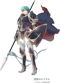 fire emblem | Ephraim قادم عبر DLC الى لعبة Fire Emblem: Awakening |