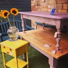 As a Decorative Chalk Painter specialising in transforming wooden furniture and bringing it back to life, I decided to take my inspiration from Provence. The old town in Nice, Cote D'Azur ins…