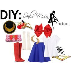 Sailor moon inspiration for Lilyann this Halloween  sc 1 st  Pinterest & How to make a Sailor fuku. ... i suppose i should post this since ...