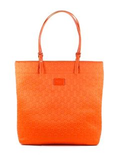 Michael Kors Tangerine Orange Neoprene Jet Set North South Tote Bag | Traveling Of Life #fashion #women #bags #shoes #clothing