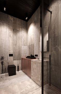 Rich & Exquisite Modern Rustic Home Interior - Modern Bathroom Design Small, Bathroom Interior Design, Modern Interior Design, Modern Bathroom, Interior Decorating, Bathroom Ideas, Bathroom Images, Interior Colors, Design Bedroom