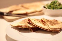 As Minhas Receitas: Quesadilhas de Bacon e Tomate Entrada Aperitivo Snack Brunch | Appetizer #Nhammm