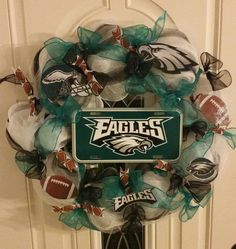 Philadelphia Eagles Wreath by TinasCrafts05 on Etsy For Mark!!!