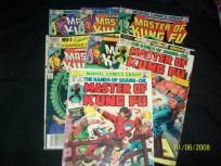 Master of Kung Fu comics (set of 7 )
