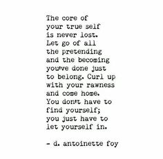 Core of your true self