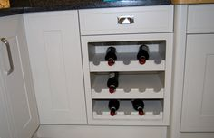 A traditional bottle rack example.