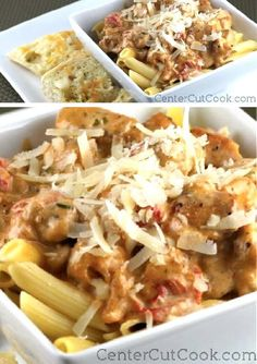 This CAJUN CHICKEN PASTA has just the right amount of spice and the tender chicken combined with the creamy sauce make it a perfect dinner for any night of the week.