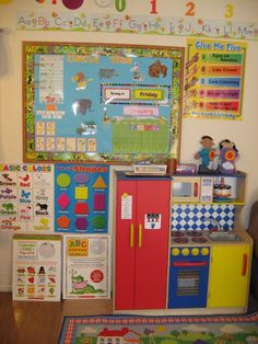 Home Daycare: Indoor Play Area Daycare Setup, Kids Daycare, Home Daycare, Daycare Design, Daycare Ideas, Learning Spaces, Learning Centers, Early Learning, Play Spaces