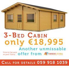 fc191f1070 30 Best Log Cabins 4 Less Ireland images