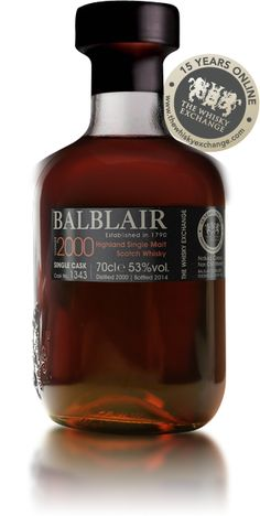 Balblair 2000 - TWE Exclusive : Buy Online - The Whisky Exchange