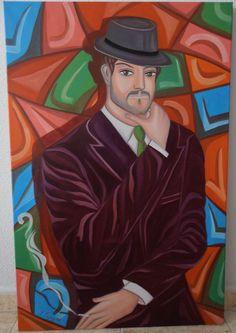"""""""CONSTANTINE"""" Óleo sobre lienzo  Tamaño 60x90 cm.  Precio 400 €."""