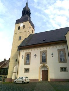 Kostel sv. Jiří - Chřibská - Česko