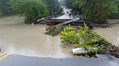Cant believe Rockbridge Rd just washed away @wis10 @LenKieseWISTV @MaryKingWISTV @joegorchowWIS  @ForestAcresNA