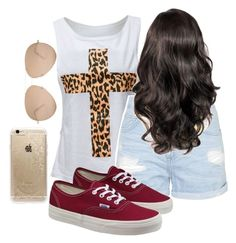 """OOTD "" by christine-caraballo ❤ liked on Polyvore"