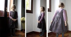 Nei Miei Panni - Gaura - abito incrociato - autunno 2012