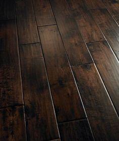 we are refinishing our existing hard wood and i want them THIS DARK :) love it #refinishhardwoodfloors