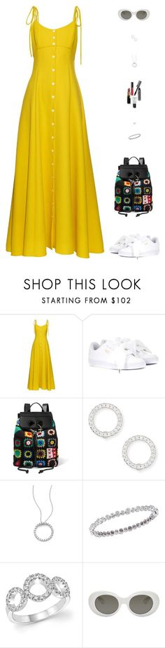 """Untitled #5210"" by mdmsb on Polyvore featuring Rosie Assoulin, Puma, J.W. Anderson, Roberto Coin, Acne Studios and Bobbi Brown Cosmetics"