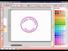 ▶ Silhouette Studio - Text to Path for Print and Cuts - YouTube  (Especially helpful for curving text for ornaments and such)