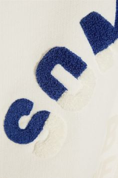 Steve J & Yoni P | Embroidered cotton-jersey sweatshirt | NET-A-PORTER.COM