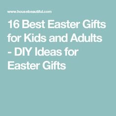 Home to you first apartment gift basket apartment decorating 16 best easter gifts for kids and adults diy ideas for easter gifts negle Images