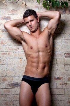 Mmm Big Brother Australia, Hot Guys, Hot Men, My Portfolio, Body Parts, Calvin Klein, Underwear, Abs, Mens Fashion