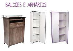 Balcões e armários. (Foto: Divulgação)