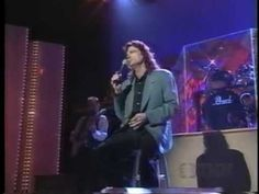 B.J. Thomas singing with his band An Expression OF Faith
