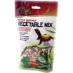 """Zilla Reptile Munchies Vegetable Mix - 4 oz.  