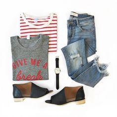 Give Me a Break - cute outfit idea