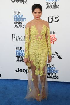 Check Out the Fiercest Fashions at the Independent Spirit Awards   Brit + Co