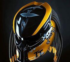 New The Predator Helmet  Helmet custom / Hand by PREDATORHELMET15