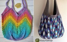 There is a great way of creating beautiful accessory, and it involves a crochet hook! There are so many Great Shoulder Bags that you can make yourself! Crochet Hooks, Free Crochet, Crochet Bags, Crochet Market Bag, Simple Bags, Bag Making, Free Design, Purses And Bags, Looks Great