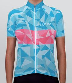 Icy Girl - Women's cycling jersey by Luxa