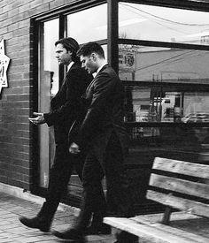 Sam + Dean #suits #Supernatural #bnw