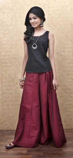 Mix And Match with flared khadi pants