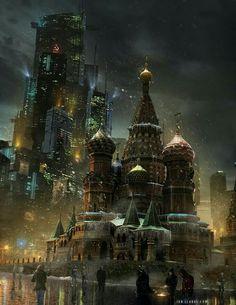 Moscú 2070. Walküre.