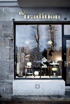 & Tradition pop-up shop | Hellerup, Denmark