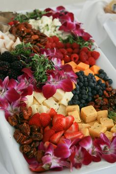Fruit & Cheese Platter | Flickr - Photo Sharing!