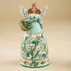 Jim Shore September Angel Birthday figurine 4012558 christmas heartwood enesco