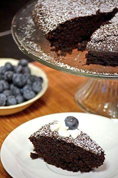 Chocolate Torta + Kids in the Kitchen